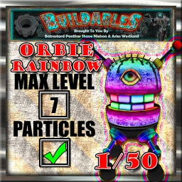 Display crate Orbie Rainb