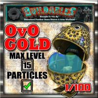 Display crate OvO Gold