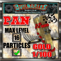 Display crate Pan Gold
