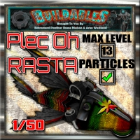 Display crate Plec Oh Rasta
