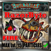 Display crate RazorByte Fire
