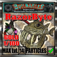 Display crate RazorByte Gold