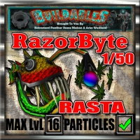 Display crate RazorByte Rasta