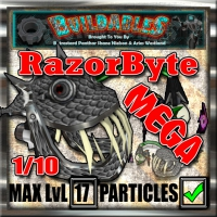 Display crate RazorByte mega