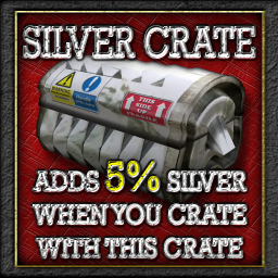 Buildables Recycler Crate 5% silver