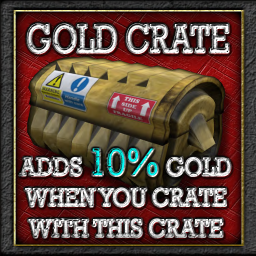 Buildables Recycler Crate Gold 10%