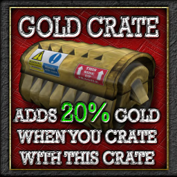Buildables Recycler Crate Gold 20%