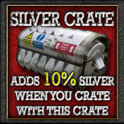 Buildables Recycler Crate Silver 10%