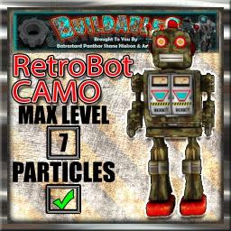 Display crate RetroBot Camo
