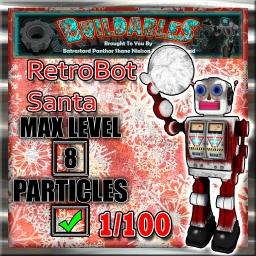 Display-crate-RetroBot-Santa