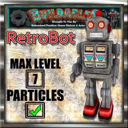 Display crate RetroBot