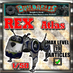 Display crate Rex Atlas