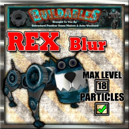 Display crate Rex Blur
