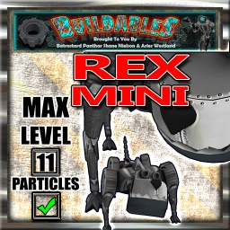 Display crate Rex Mini