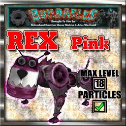 Display crate Rex Pink