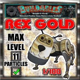 Display crate Rex gold