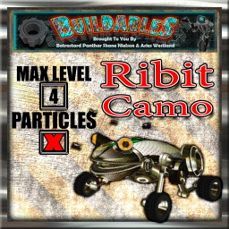 Display crate Ribit Camo
