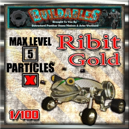 Display crate Ribit Gold 1of100