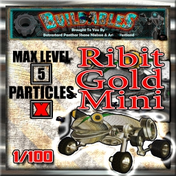 Display crate Ribit Gold Mini 1of100