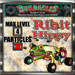 Display crate Ribit Hippy