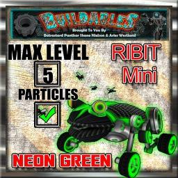 Display-crate-Ribit-Mini-Neon-Green