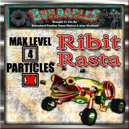 Display crate Ribit Rasta