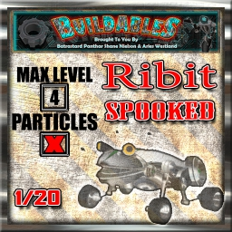 Display crate Ribit spooked