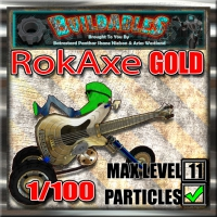 Display crate RokAxe Gold