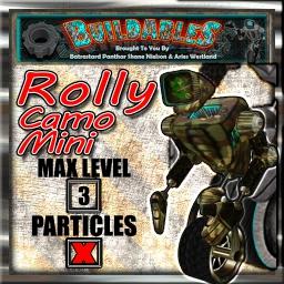 Display crate Rolly Camo Mini