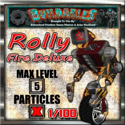 Display crate Rolly Fire Deluxe 1of100