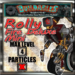Display crate Rolly Fire Deluxe Mini