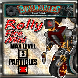 Display crate Rolly Fire Mini