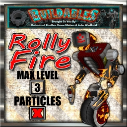 Display crate Rolly Fire
