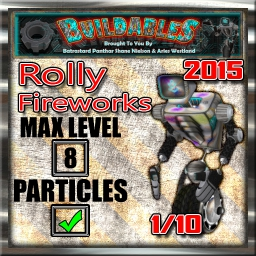 Display crate Rolly Fireworks 2015 1of10
