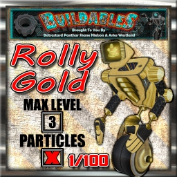 Display crate Rolly Gold 1of100