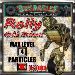 Display crate Rolly Gold Deluxe 1of100