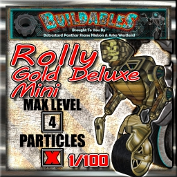 Display crate Rolly Gold Deluxe Mini 1of100
