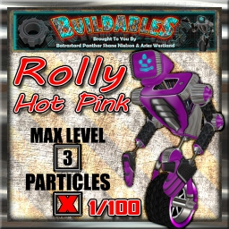 Display crate Rolly Hot Pink 1of100