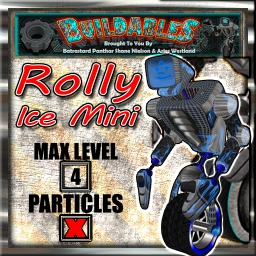 Display crate Rolly Ice Mini