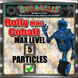 Display crate Rolly MK2 Cobalt