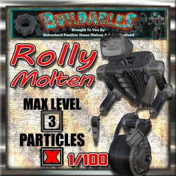 Display crate Rolly Molten 1of100