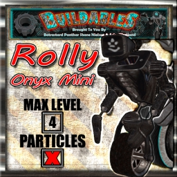 Display crate Rolly Onyx Mini