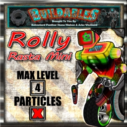 Display crate Rolly Rasta Mini