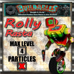 Display crate Rolly Rasta