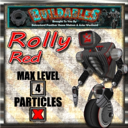Display crate Rolly Red