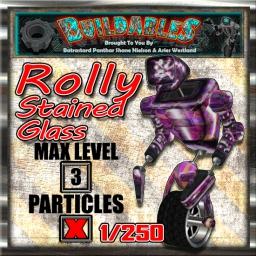 Display crate Rolly Stained Glass 1of250