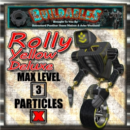 Display crate Rolly Yellow Deluxe