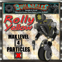 Display crate Rolly Yellow