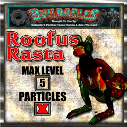 Display crate Roofus Rasta