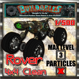 Display crate Rover 4x4 Clean 1of500